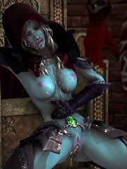 Warcraft orc futa comic