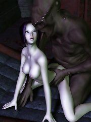 Girl monster fuck