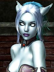3d erotic world of warcraft comics