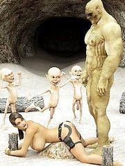 Wow nude orc female is sexyest